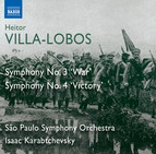 Villa-Lobos: Symphonies Nos. 3