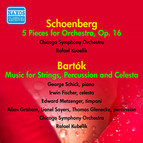 Schoenberg: 5 Pieces for Orchestra - Bartok: Music for Strings, Percussion and Celesta