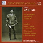 Caruso, Enrico: Complete Recordings, Vol.  4 (1908-1910)