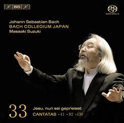 J.S. Bach - Cantatas, Vol.33 (BWV 41, 92, and 130)