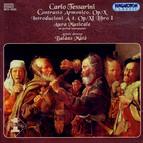 Tessarini: Contrasto Armonico, Op. 10 / Introducioni A 4, Op. 11, Book I