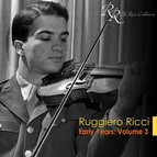 Violin Recital: Ricci, Ruggiero - Veracini, F.M. / Mozart, W.A. / Hindemith, P. / Kreisler, F. / Beethoven, L. Van
