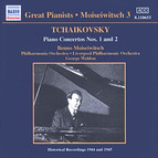 Tchaikovsky: Piano Concertos Nos. 1 and 2 (Moiseiwitsch, Vol. 3) (1944-1945)
