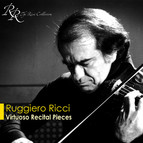 Violin Recital: Ricci, Ruggiero - Liszt, F. / Wieniawski, H. / Brahms, J. / Locatelli, P.A. / Paganini, N. / Kreisler, F. (Virtuoso Recital)