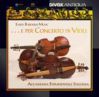 Early Baroque Music ... e per Concerto di Viole