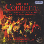 Corrette: Pieces for Vielle or Musette, Flute, and Basso Continuo