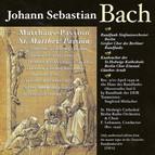 Bach, J.S.: St. Matthew Passion (Lehmann) (1949)