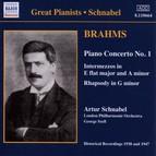 Brahms: Piano Concerto No. 1 (Schnabel) (1938)