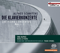 Schnittke, A.: Piano Concerto / Concerto for Piano and String Orchestra / Concerto for Piano 4-Hands and Chamber Orchestra