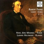 Franz: Lieder, Op. 1-4
