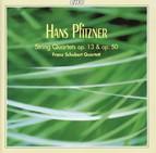 Pftizner: String Quartets, Opp. 13 & 50