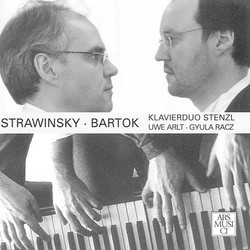 Stravinsky: Petrushka - Bartok: Sonata for 2 Pianos and Percussion
