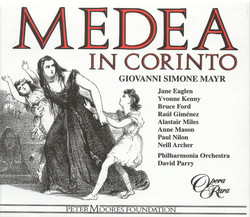 Mayr: Medea in Corinto