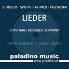 Schubert, Spohr, Lachner, & Kalliwoda: Lieder
