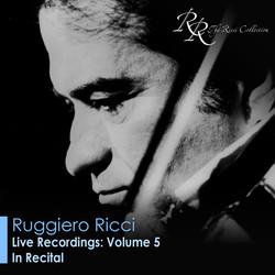 Violin Recital: Ricci, Ruggiero - Beethoven, L. Van / Bartok, B. / Paganini, N.