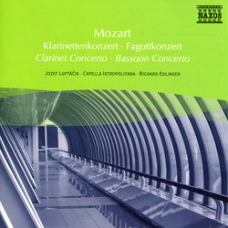 Mozart: Clarinet Concerto in A Major / Bassoon Concerto in B Flat Major
