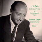 Bach: 6 Sonatas (Partitas) for Unaccompanied Violin, Vol. 1