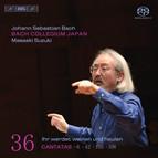 J.S. Bach - Cantatas, Vol.36