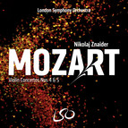 Mozart: Violin Concertos Nos. 4 and 5