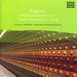 Paganini: Violin Concertos Nos. 1 and 4