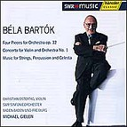Béla Bartók - Four Pieces for Orchestra op. 12, Concert for Violin and Orchestra No. 1, Music for Strings, Percussion and Celesta