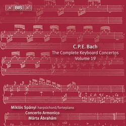 C.P.E Bach – Keyboard Concertos, Volume 19