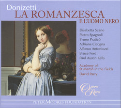Donizetti: Romanziera E L'Uomo Nero (La)