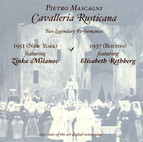 Mascagni, P.: Cavalleria Rusticana (Milanov, Rethberg) (1937, 1951)