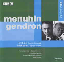 Menuhin & Gendron - Beethoven: Triple Concerto - Brahms: Double Concerto