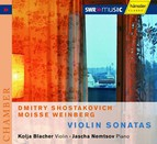 Dmitri Schostakovitch, Mieczyslaw Weinberg - Violin Sonatas