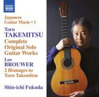 Takemitsu: Complete Original Solo Guitar Works